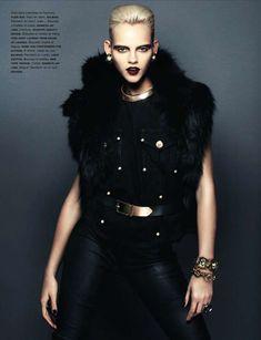 Retro Femme Fatale Editorials - Vogue Paris November 2013 Reinterprets L.A. Confidential (GALLERY)