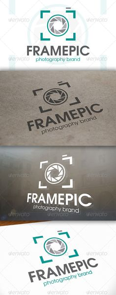 Photo Frame Logo — Vector EPS #agency #brand • Available here → https://graphicriver.net/item/photo-frame-logo/6653158?ref=pxcr