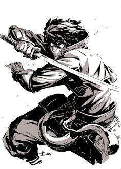 Arte Ninja, Ninja Kunst, Ninja Art, Action Pose Reference, Drawing Reference Poses, Drawing Poses, Action Poses, Fantasy Character Design, Character Design Inspiration