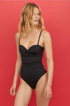 Costum de baie modelator - Negru - FEMEI | H&M RO 1