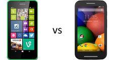Nokia Lumia 630 or Moto E  #lumia630 #motorola #motoe