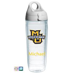 Marquette University Personalized Tervis Water Bottle