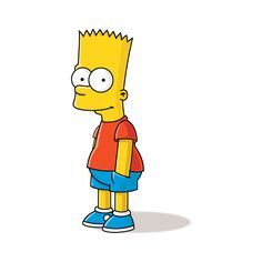 Bart Simpson Logo Vector Eps Free Download Bart Simpson Bart Bart Simpson T Shirt