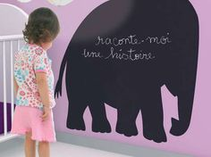These Fun Coco Boheme Chalkboard Stickers Stick to the Basics #uniquedecals #stickerdecals trendhunter.com