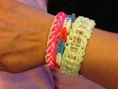 Mijn eigen gemaakte loom armbanden