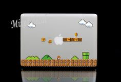 Games sticker macbook decal /macbook pro decal by MixedDecal, £4.99
