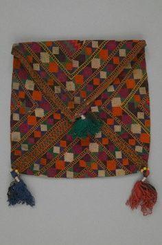 Baluch bag. Mid to late 20th century