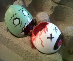 Zombie Easter eggs. That is all.