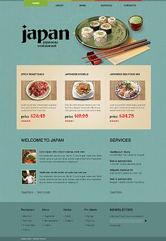 sushi website image