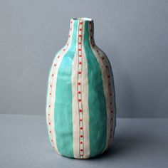 Architecture Symbols, Earthenware Clay, Art Object, Clay Art, Ceramic Art, Vases, Diy And Crafts, September, Stripes