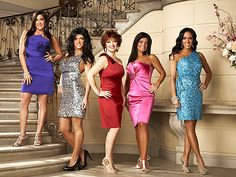 Housewives of New Jersey!  These ladies are crazy!!  I love it!