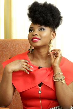 Fashion Ghana Magazine | Bland 2 Glam Jewelry Collection | Yemi Alade | Natural Hair