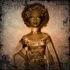 Cindy as Barbie Doll Inspired by Gustav Klimt