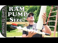This video was filmed to go on the Land To House Website as a way to help select the right size ram pump. I also talk about Unboxing the pump as well as Driv. House Water Pump, Ram Pump, Hydraulic Ram, Homestead Survival, How To Buy Land, Pvc Pipe, Water Systems, Alternative Energy, Farmhouse