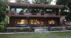 Corbett Riverside Resort, one of the finest #resorts in Jim Corbett. The river Kosi flows alongside the #hotel with the majestic mountains, flora and fauna on the other side. It is a resort which can be frequented by leisure as well as business #travelers. #exclusiveresort #hotelsandresorts #tourism #nature