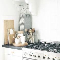 #kitchen #scandinavian #whiteliving