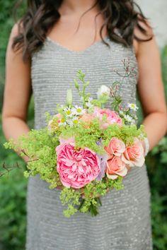Lush blooms: http://www.stylemepretty.com/new-york-weddings/new-york-city/brooklyn/2015/03/03/elegant-brooklyn-winery-wedding/   Photography: Isabelle Selby - http://isabelleselbyphotography.com/