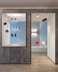 Modular Lighting Instruments  showroom NYC  amedeo g.cavalchini design