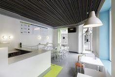 La Piadina Cambados by NAN Architects, Cambados   Spain ice cream store design