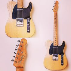 Happy #teletuesday everyone. Love this 1950 Fender Broadcaster, serial no. 0460…
