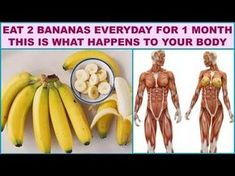 If You Eat 2 Bananas Everyday For 1 Month This Is What Happens To Your Body - YouTube