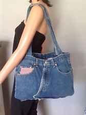 Levis Bag Purse Denim Jeans Hobo Heart Rustic Bohemian Designer Fashion Hip Chic