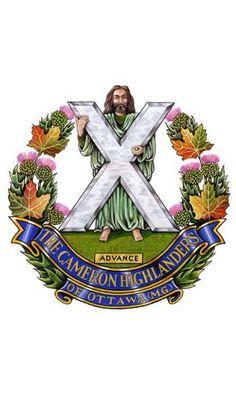 The Cameron Highlanders of Ottowa.