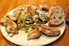 Spitzkohlsalat mit Hähnchenfilet, ein sehr schönes Rezept aus der Kategorie Geflügel. Bewertungen: 29. Durchschnitt: Ø 4,3.
