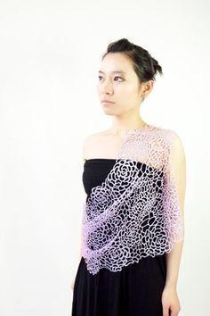 Garment 2012, Plastic, Laser Cutting, Jewellery, Jewelry Generic, Designer Yen