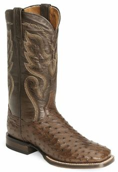 Dan Post Men's Chandler Western Boot,Tobacco,10 D US, Dan Post Boots are western boots for the true cowboy This Men'€™s Dan Post Boot features a fancy stitched 13 leather shaft over a full quill ostrich leather foot. Full leather lining. Single stit..., #Apparel, #Boots