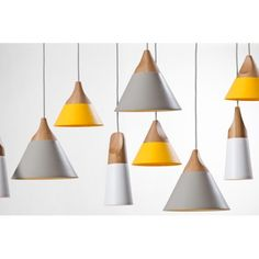 """Slope"" Ceiling Lamps - Miniforms http://www.astylishome.com/lighting/225-slope-ceiling-lamps.html"