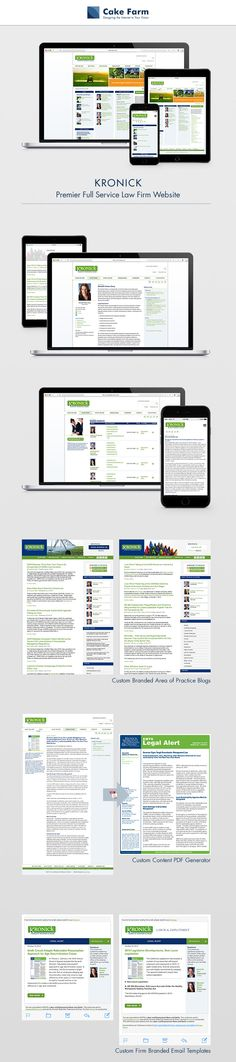 Responsive Drupal web design | information architecture | on-demand high-quality PDF alerts | email marketing | graphic design | mobile-friendly | Kronick Moskovitz Tiedemann & Girard | labor and employment law | education law | public agency | natural resources law