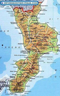 Cartina Della Calabria Ionica.1289 Best Calabria Provence Images Calabria Italy Italy