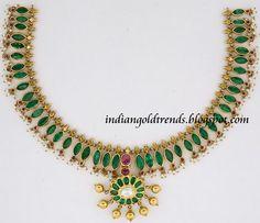 emerald jewellery india - Google Search