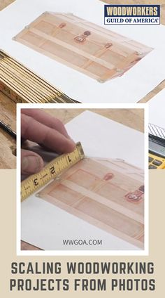 Learn helpful tips for scaling woodworking projects from photos. Woodworking expert George Vondriska teaches a helpful shortcut to develop proper dimensions. Find out how to use images to scale your woodwork to any desired size. Work with George on each step of instructions he provides and start scaling your work from photos.