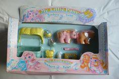 MY LITTLE PONY MIB G1 *** DIBBLES & NIBBLES *** NEWBORN TWINS | eBay