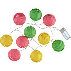ZEEMAN Webshop - Webshop - Wonen - Geen - Lampion lichtslinger