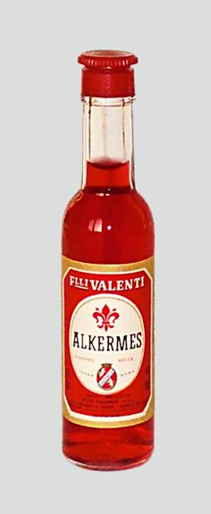 Valenti Eridanea - Mini Liquor Bottles - Alkermes - https://sites.google.com/site/valentieridanea/