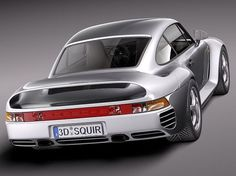 Porsche 959: One of the first production cars to go 0-60 in under 3 secs....old school awesomeness...