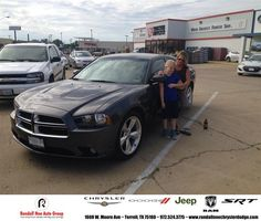 #HappyAnniversary to Lynn Thompson on your 2014 #Dodge #Charger from Everyone at Randall Noe Chrysler Dodge Jeep RAM!