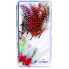 Flambeau Streamside Series Slimline Fly Box, White
