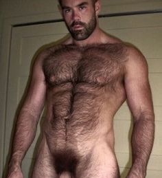 Naked hairy male remarkable