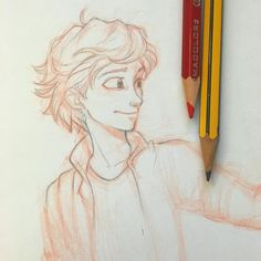 """""""Adrien looking at Marinette like this tho ☔️"""""""