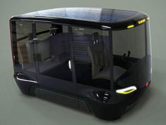2030 Concept Prague Taxi Car