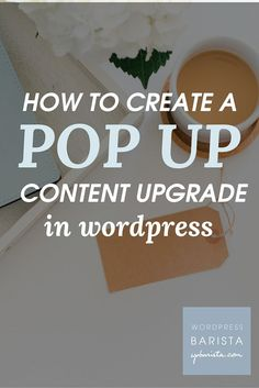 Content upgrades are a great way to get email subscribers for your website or blog  who are truly interested in your products or services. In this post, I will walk you through, step by step, the process of adding the content upgrade to your post; capturing emails and syncing with your mailchimp account. The steps are explained in full at this link: https://wpbarista.com/?p=10883