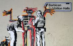 Banksy, Basquiat, London - unurth | street art
