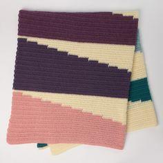 Free Intermediate Knit Blanket Pattern