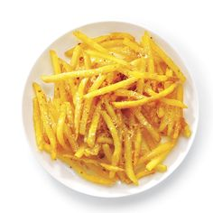 Parmesan & Garlic Fries Recipe -I found an even tastier way to eat fries! The addition of Parmesan and garlic makes this side dish simple irresistible.