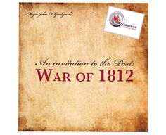 The front of our folding history flyer, completed to help promote the history of the War of 1812 along the St. War Of 1812, St Lawrence, The St, Paper Shopping Bag, Promotion, Invitations, History, Historia, Invitation