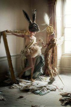 Tim Walker: magic and fashion editorial.
